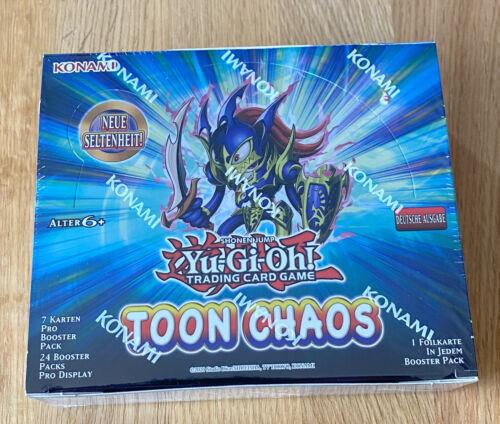 Toon Chaos NEU /& OVP Deutsch Display Yu-Gi-Oh