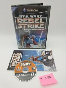 Star Wars: Rebel Strike Rogue Squadron III (GameCube) Complete, No Scratches