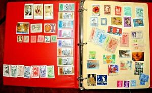 CatalinaStamps-World-Wide-Collection-on-Stock-Pages-780-Stamps-Lot-D117