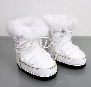 New-Authentic-Gucci-Kids-Fur-Trim-Boot-w-Interlocking-G-32-US-1-298369