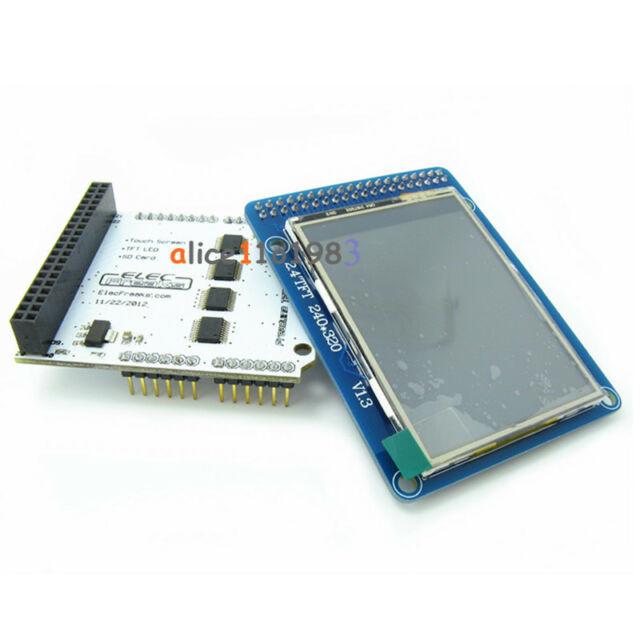 """2.4"""" TFT LCD Module Touch Panel+ TFT 2.4"""" LCD Shield Expansion Board For arduino"""
