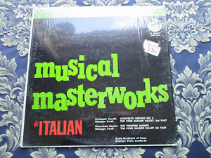 SCALA ORCHETRA OF ROME PAOLO LOMBARDO MUSICAL MASTERWORKS ITALAIN FAMILY RECORDS - Corby, United Kingdom - SCALA ORCHETRA OF ROME PAOLO LOMBARDO MUSICAL MASTERWORKS ITALAIN FAMILY RECORDS - Corby, United Kingdom