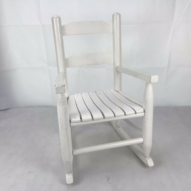 Incredible Kids Rocking Chair Children Classic Wooden Proch Rocker White Dailytribune Chair Design For Home Dailytribuneorg
