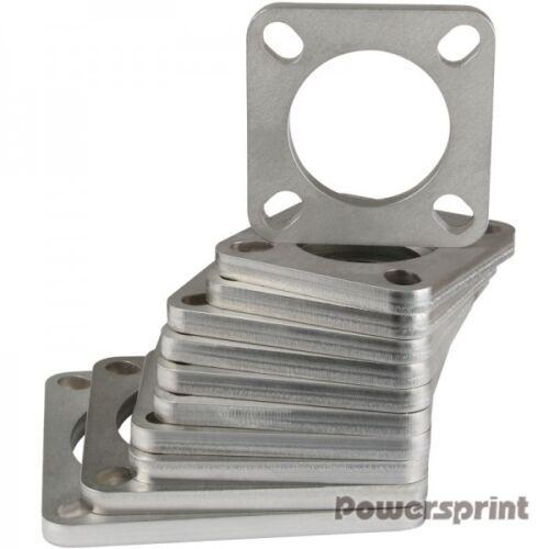Rohrausschnitt Powersprint Quadrat-Flansch 55 mm Durchm