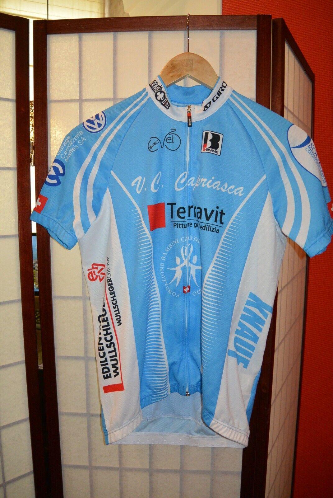 Biemme Teravit V.C Capriasca retro vintage  cycling jersey   ( 102)