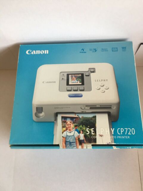 Canon Selphy CP720 Compact Photo Printer - Inc Sealed KP-361P Ink Cartridge Pack