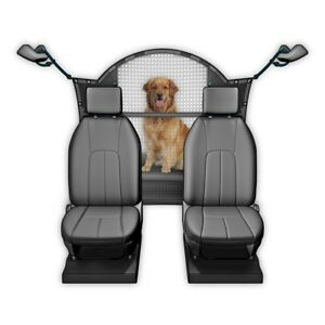 Travelin-K9-Pet-Net-Mesh-See-Through-Dog-Car-Truck-SUV-Barrier-w-Curved-Top