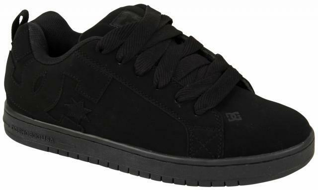 DC Court Graffik Zapatos de Skate Skate de Negro Nuevo en Caja 300529 a86805