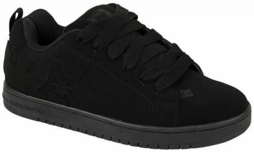 DC Court Graffik Skate Shoes Black New In Box 300529