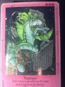 Bella Sara Trading Card Mythology Uk S25 34 Neptune Shiny Foil Ebay