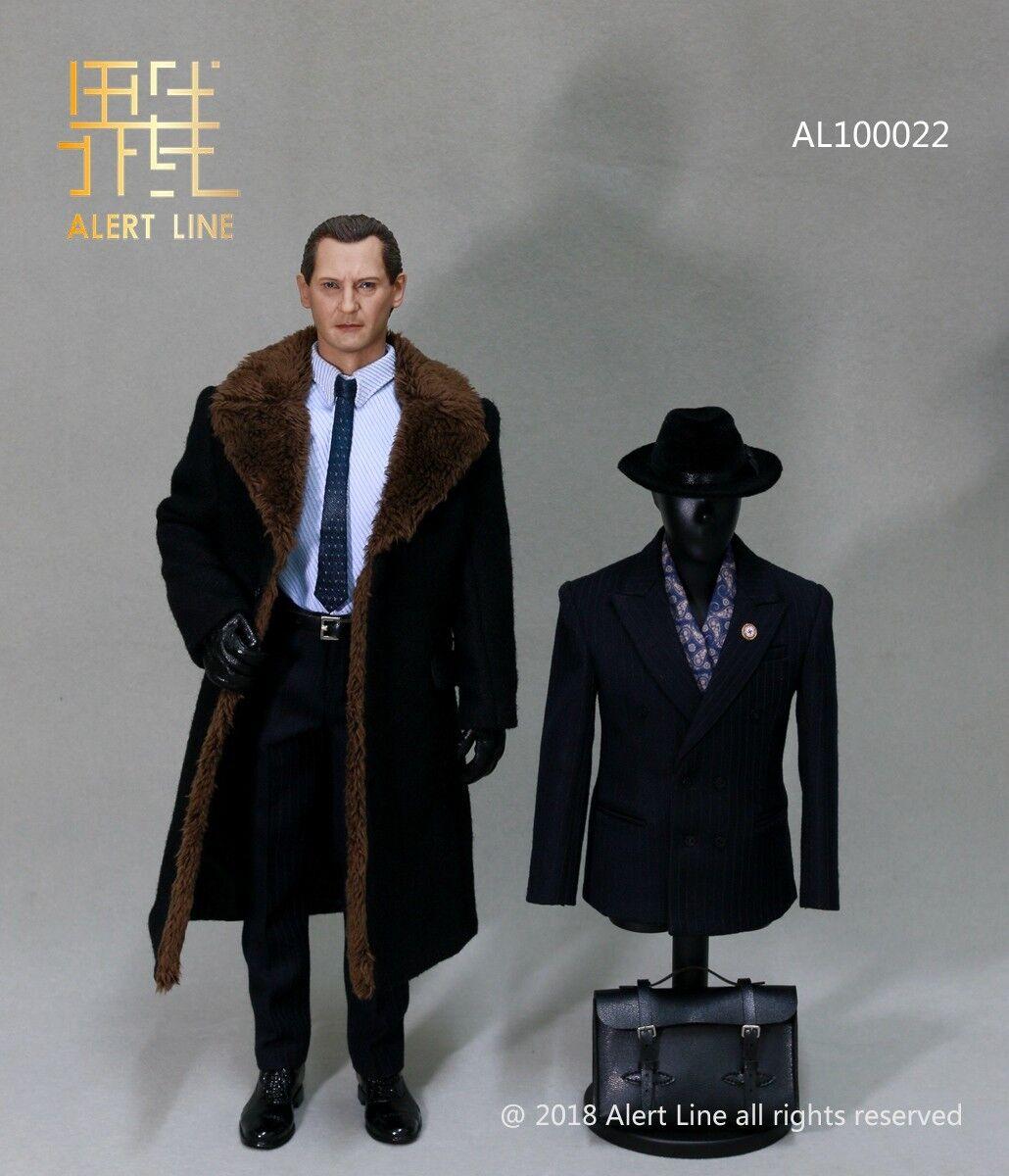 Línea de alerta AL100022 1 6 juego de la Segunda Guerra Mundial Alemán empresario ropa caben 12  figura