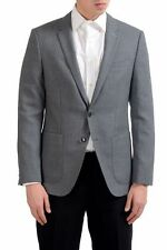"Hugo Boss ""C-Hamilton"" Men's 100% Wool Gray Blazer Sport Coat US 38R IT 48R"