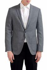 "Hugo Boss ""C-Hamilton"" Men's 100% Wool Gray Blazer Sport Coat US 38R IT 48R"
