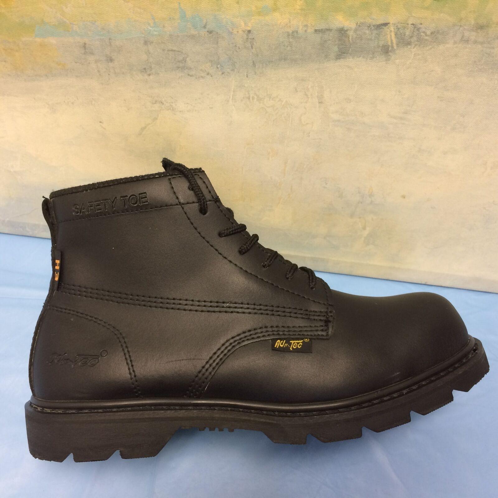 Ad Tec Men's Extra Wide Steel Toe Electrical Hazard 6  Work Boots 10 EH