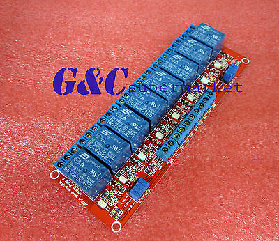 5V 8-Channel Relay Module with Optocoupler H/L Level Triger for Arduino M36