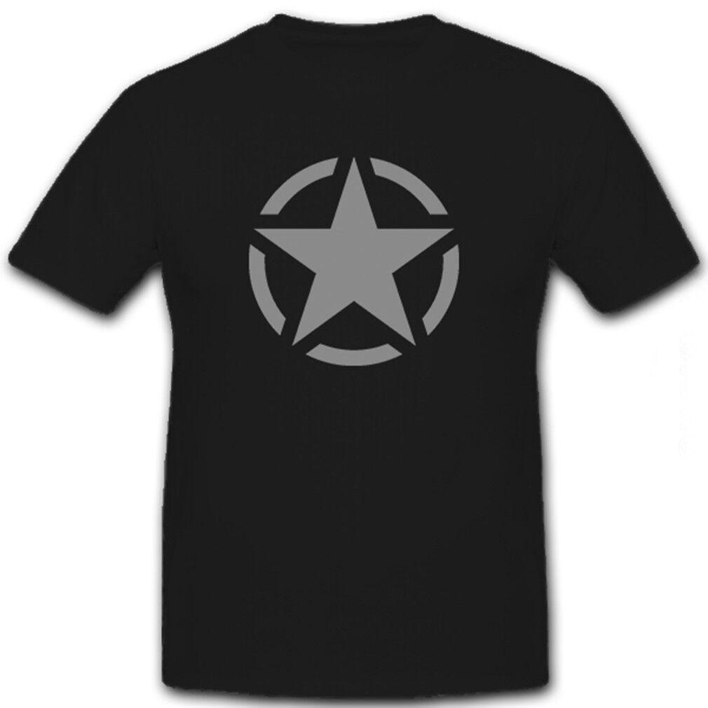 Allied Star Allierter Stern USA US Army Army Army Allierte - T Shirt  6559   Wirtschaftlich und praktisch    Gute Qualität    Sehen Sie die Welt aus der Perspektive des Kindes  d9a1b9