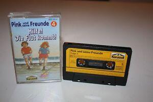 PINK-UND-SEINE-FREUNDE-Folge-4-Hilfe-Die-Flut-kommt-MC-Kassette-KARUSSELL-RAR