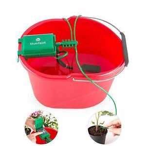 bew sserungssystem garten automatisch pflanzen wasserspender urlaubsbew sserung ebay. Black Bedroom Furniture Sets. Home Design Ideas