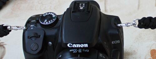 "44/"" Black or Army Green  Camera// Binocular  neck strap Cobra weave Para Cord"
