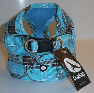 DOXTASY-Comfy-Harness-Scottish-Turquoise-Groesse-XS-L