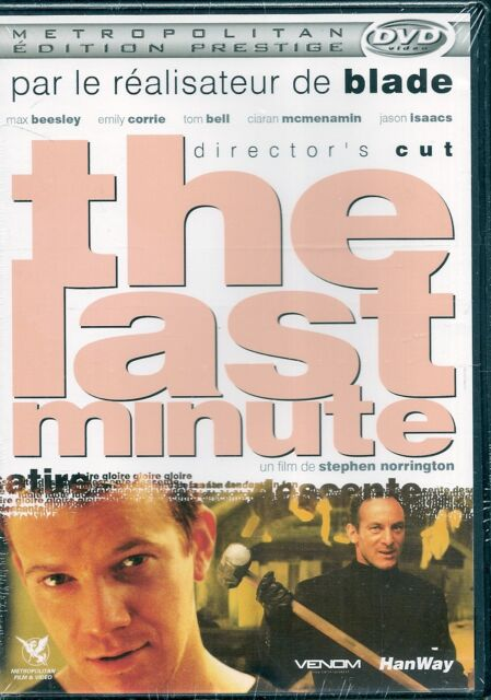 DVD ZONE 2--THE LAST MINUTE / DIRECTOR'S CUT--BELL/NORRINGTON/BEESLEY