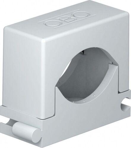 50 Stück OBO Bettermann Reihen-Druckschelle 2037 12-20 LGR grau Druckschellen