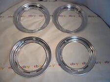 "Set of 4 beauty rings 14"" inch wheel rim 59 Plymouth"