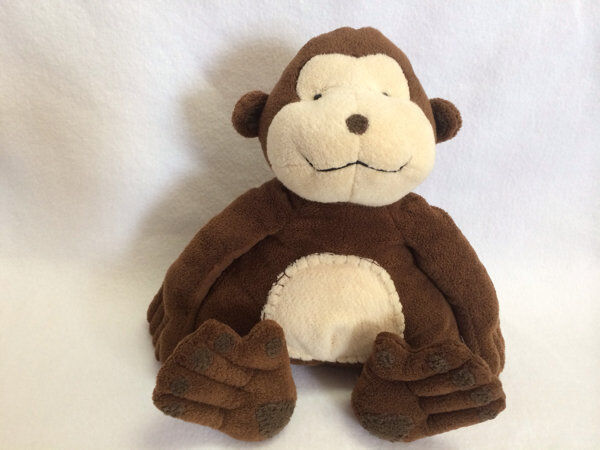 Pottery Barn Kids Plush Chamois Monkey 16 Stitched Tummy Pbk