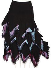 M Fairy Lolita Emo Goth Gypsy SteamPunk Boho Ruffle Layered Gothic Mermaid Skirt