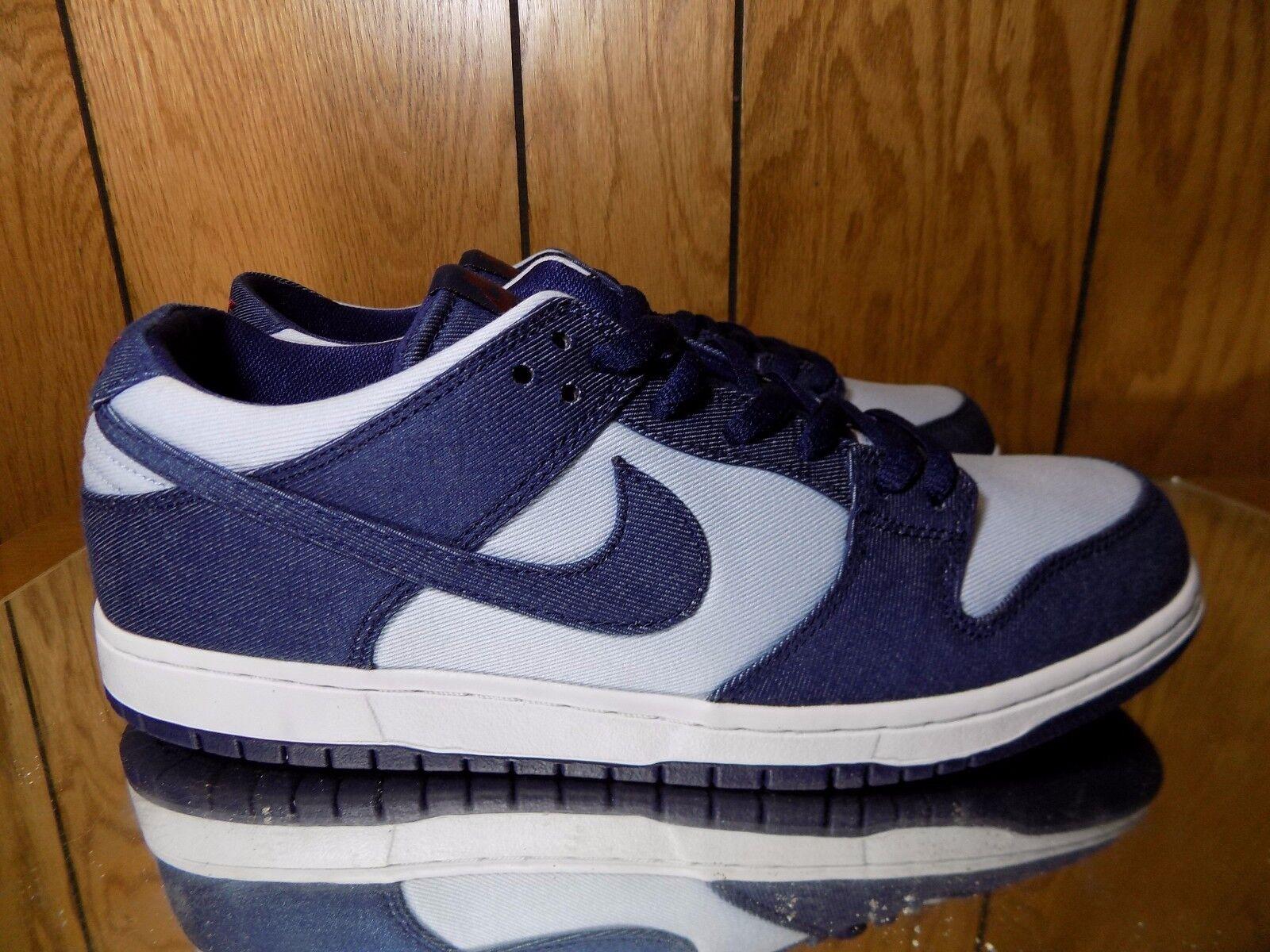 Nike sb schiacciare low pro jeans blu - 854866-444 binario
