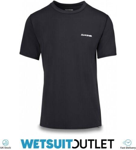 Dakine Mens Heavy Duty Loose Fit Short Sleeve Surf Shirt Black Flatlock seams