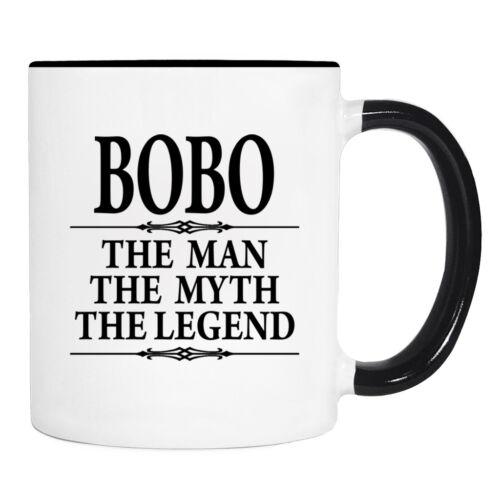 11 oz Mug Bobo Gift Bobo Mug Bobo The Man The Myth The Legend