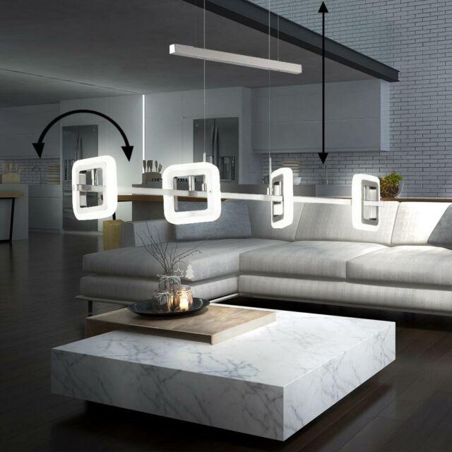 20W LED Decken Hänge Leuchte höhenverstellbar Strahler drehbar Pendel Big Light