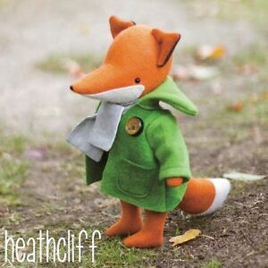HEATHCLIFF-FOX-Sewing-Craft-PATTERN-Felt-Doll-Woodland
