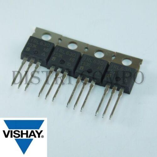 IRL630PBF Transistor 200V 9A TO-220 Vishay RoHS (lot de 4)