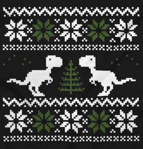 Ugly Christmas Dinosaur Shirt Sweater Funny Cute Kids Gift Hooded Sweatshirt