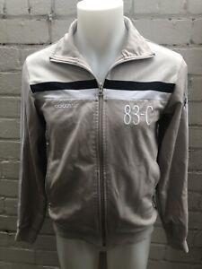 Mens-Adidas-Track-Top-Size-S-J-Mano-83-C-Beige-Jacket-Retro