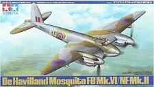 Tamiya 61062 1/48 Aircraft Model Kit De Havilland Mosquito FB Mk.VI/NF Mk.II