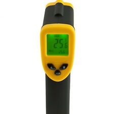 Hand-held Non-Contact IR Laser Infrared Digital Thermometer DT380 -50-380°C FT