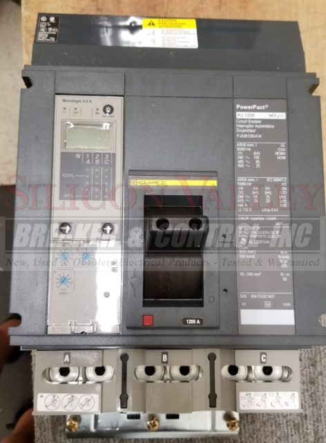 square d pja36120u41a powerpact circuit breaker for sale online ebay