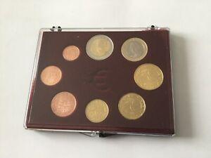 Coffret complet de 8 pièces  euros Espagne 2008