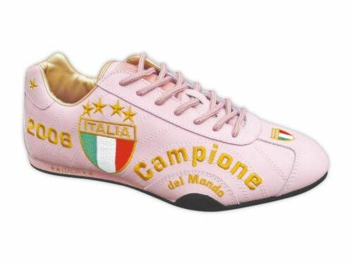 40 SPOOKS  ITALIEN  CAMPIONE  EM WM  SCHUHE  LEDER  NEU  ROSA Fan Artikel Gr