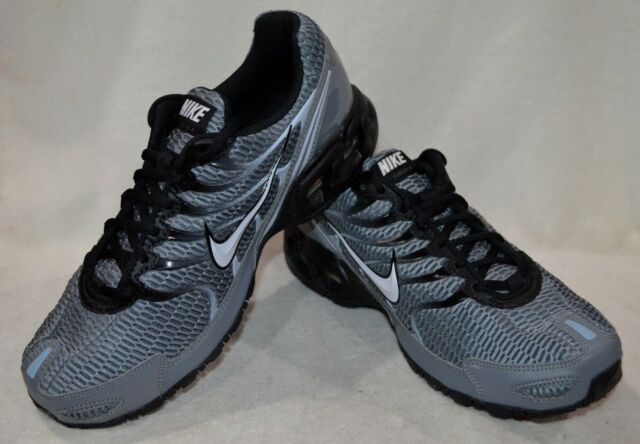 26617d29f6d Nike Air Max Torch 4 Mens 343846-012 Cool Grey Black Running Shoes Size 10.5