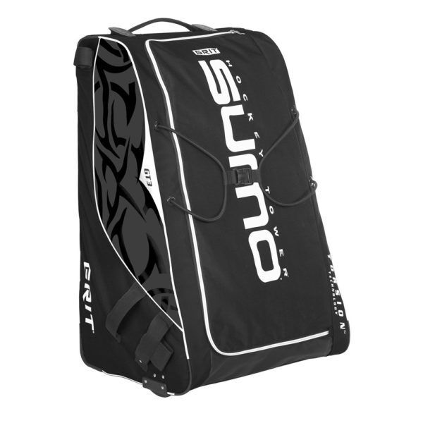 New Grit Gt3 Ice Hockey Sumo Goalie Bag 36 Equipment Black Wheeled