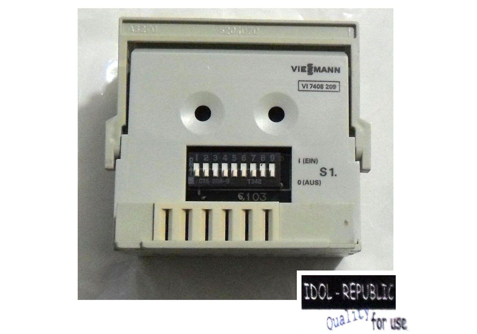 Viessmann - Elektronikbox für Duomatik FL - 7408 209 - eBox 7408209