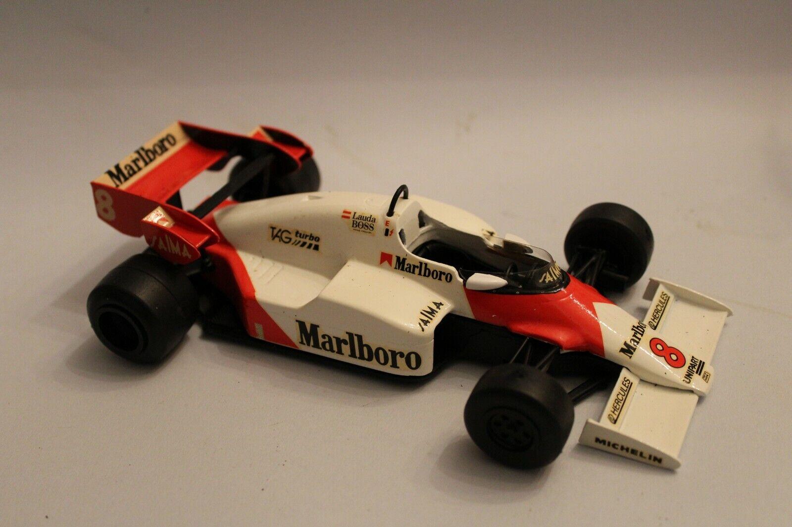 comprar mejor 1 24 Scale McLaren MP4 MP4 MP4 2 Tag Turbo Formula 1 GP HANDBUILT coche modelo promocional  entrega de rayos