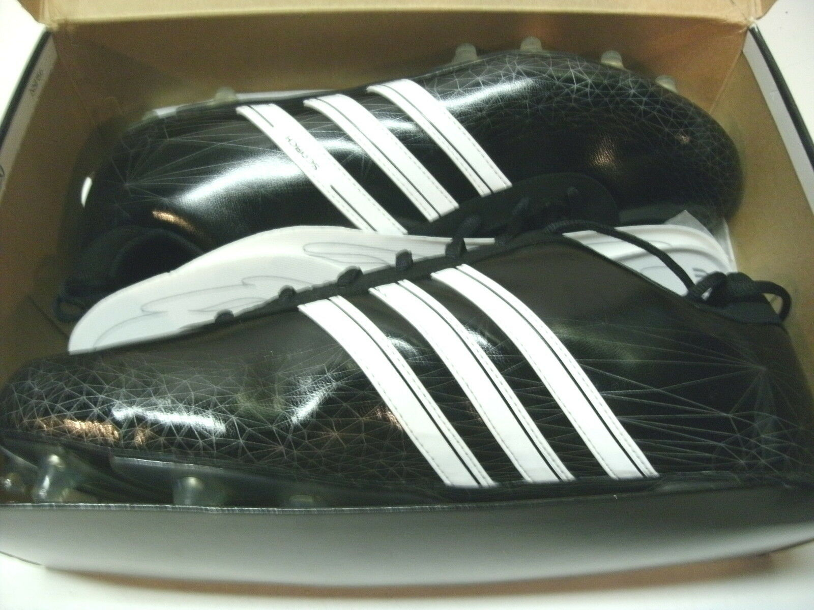 ADIDAS SCORCH 7 FLY LOW MENS FOOTBALL SOCCER LACROSSE CLEATS, SIZE 13-1/2 Casual wild