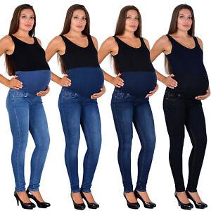 UnabhäNgig Damen Schwangerschaft Jeans Umstandshose Schwangerschaftshose Maternity J531