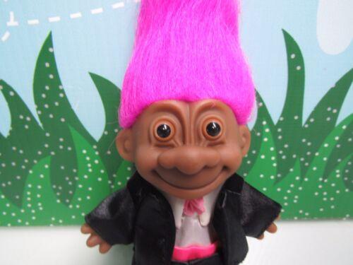 "5/"" Russ Troll Doll BLACK NEW IN ORIGINAL WRAPPER AFRICAN AMERICAN GROOM"