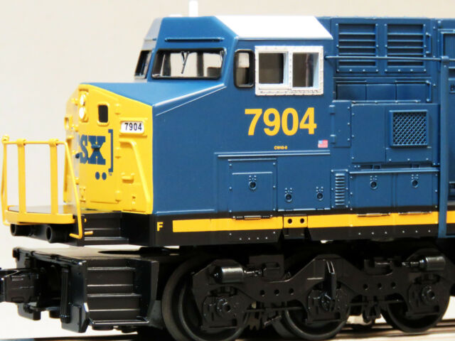 MTH RAIL KING CSX DASH 8 DIESEL ENGINE PROTO 3 O GAUGE 30-4248-1-E train NEW